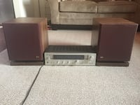 Vintage Sansui R-303 receiver and DA PS-10 speakers  Silver Spring