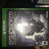 Dishonored for Xbox one New Castle, 19720