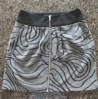 BRAND NEW ZIPPER SKIRT WITH POCKETS- Size Small Calgary, T3H 3C7