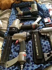 Porter Cable and Senco Nail Guns