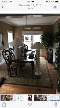 Lamp(s). Two lamps as shown, $34 each or make offer. Floor lamp, and table lamp each for sale separately or together Hoover, 35244
