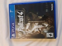 Sony PS4 Fallout 4 game case Barrie, L4N 0K8