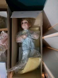 Barbie doll wearing blue dress Edmonton, T5M 0L1