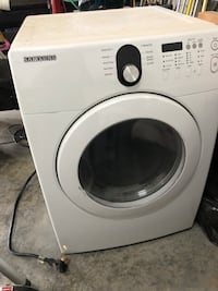 White samsung front-load clothes Dryer Midland, 79705
