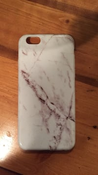 White marble iphone 6/6S case Nanaimo, V9S 4T9