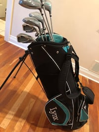 Golf clubs and bag - Lynx Crystal Cat Glenview, 60026