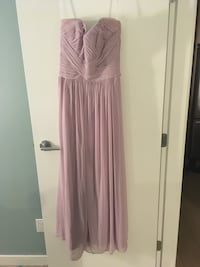 women's pink spaghetti strap dress