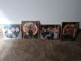Wall 4 piece decor