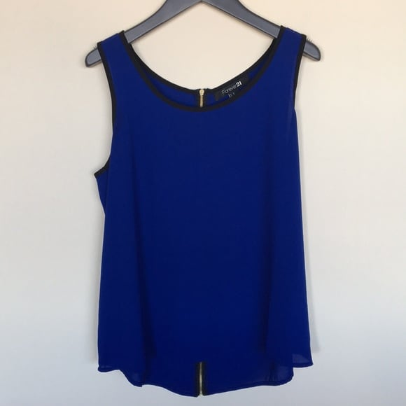 NEW - Forever 21 Blue Tank Top