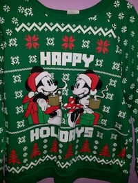 Mickey Mouse Holiday sweater Kannapolis, 28081