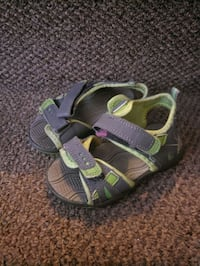Toddlers size 8 and 9 shoes sneakers sandals