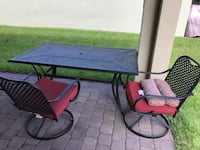 Patio furniture, 2 swivel and 4 regular chairs  Port Saint Lucie, 34986