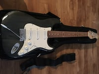 black and white stratocaster electric guitar Calgary, T2V 2H8