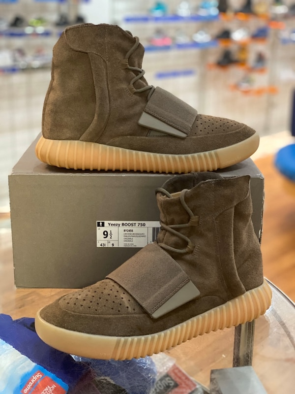 Chocolate Yeezy boost 750 size 9.5 ede819e2-81f0-45f8-93e6-74d0dc92286b