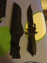 black and yellow handled knife with sheath Hamilton, L8M 2S2