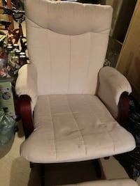 Rocking chair with rocking footstool Oakville, L6H