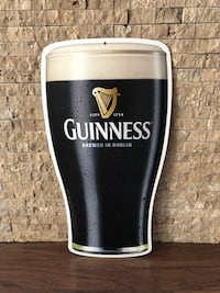 Cardboard Guinness Sign Calgary, T1Y 3A9