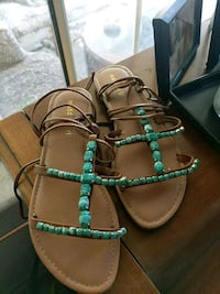Turquoise sandals size 7.5 Stanford, 94305