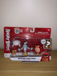 Angry birds mission flock pack