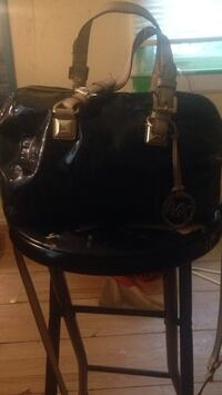 black and gray leather tote bag High Point, 27260