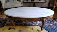 Marble top coffee table, excellent condition Pacific Grove, 93950