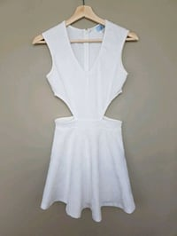Tobi White Cutout A-Line Dress Toronto, M5G 1M8