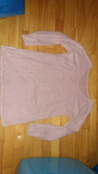 New pink scoop neck knit top Montreal, H8T