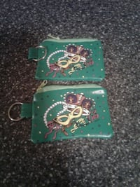 Mardi Gras coin pouches  Lockport, 70374