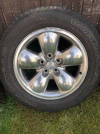 Dodge rim size 20 good tires  Surrey, V3S 7P4