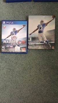 two Sony PS4 game cases Chambersburg, 17202