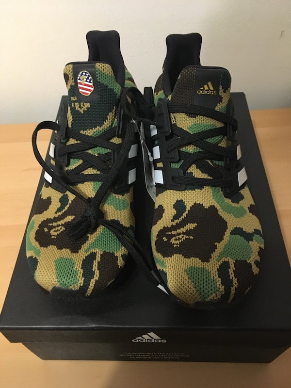 7867ea5d40dcc Used Adidas bape ultraboosts for sale in Toronto - letgo