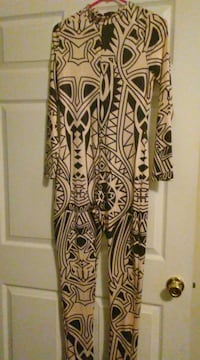 Nude and black womens sexy jumpsuit Mobile, 36695