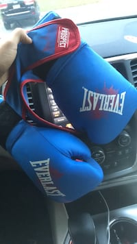 blue and red Everlast boxing gloves Marietta, 30067