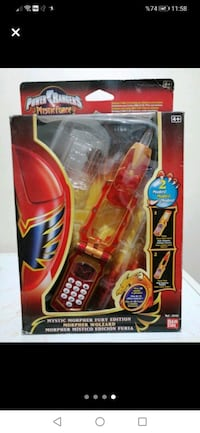 Power Rangers telefon