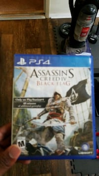 Assassin's Creed IV Black Flag PS4 game case Decatur, 30035