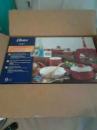 Oster pots in pans brand new in the box 33 km