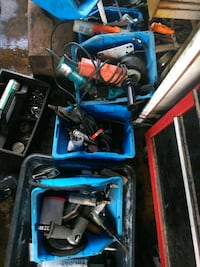 blue and black Makita power tool set Melbourne