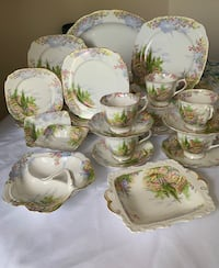Dinnerware set of 6 Royal Albert, BoneChina , Kentish Rockery Markham, L6C 1R8