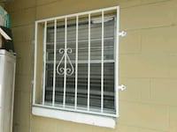 white steel window grill Tampa, 33614