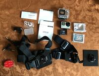 GoPro Hero 4.0 silver with touchscreen & accessories Baldwin, 21013