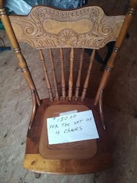 brown wooden windsor chair Hanover, 17331