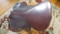 brown leather horse saddle Welcome, 20693
