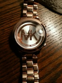 rose gold  Michael Kors mens watch  Hamilton, L8P