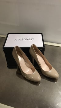 Nude coloured high heel Nine West size 7 Vaughan, L4K 5G8