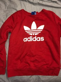 Red Adidas Crewneck Size Small 544 km