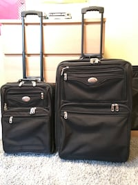 Two piece Air Canada luggage set Vancouver, V5S