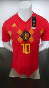 BELGIUM JERSEY   BRAND NEW WITH TAGS Mississauga, L5B 4M9
