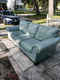 HAVE A SUPER NICE COUCH REAL LEATHER GOOD CONDITIO Daytona Beach, 32114