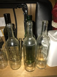 5 wine bottles. Perfect for crafts  Shawnee, 66216