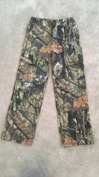 Boys camouflage pants